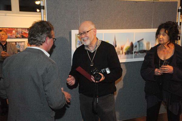 ... und Anton Asen, Mitglieder der Fotofreunde