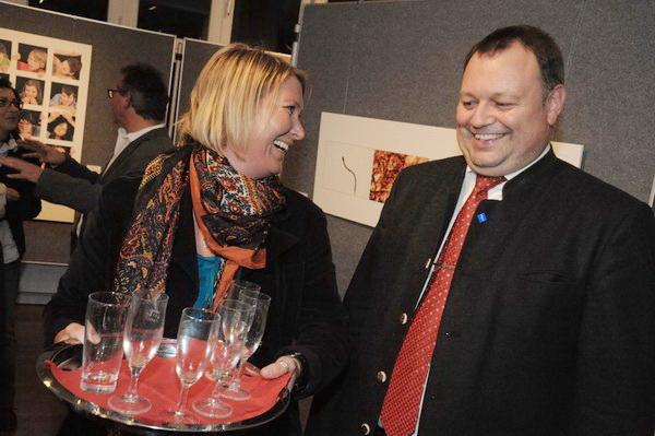 Frau Silvia Mayr und Herr Eigstler haben gut lachen!