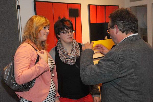 Manfred Köhler erklärt den Bildaufbau....?