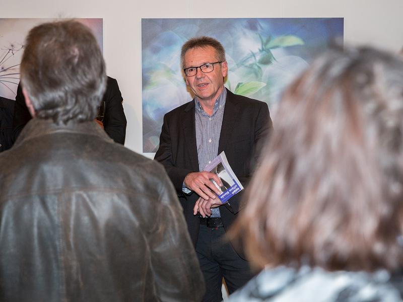 Wolfgang Elster (2. Landesverbandsvorsitzender des DVF Bayern) in seiner Ansprache, vielen Dank für Dein Kommen.