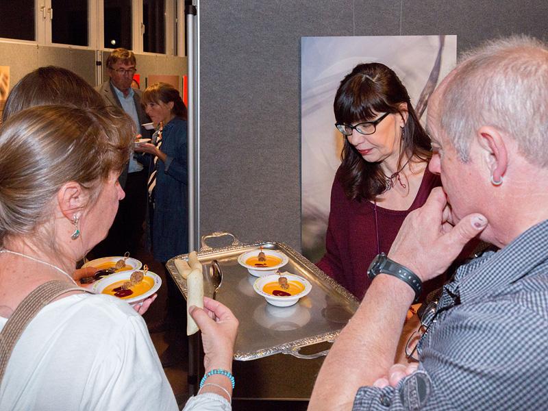 Und natürlich gibt es wieder tolle Speisen von Günther Just - und es schmeckt wieder allen!