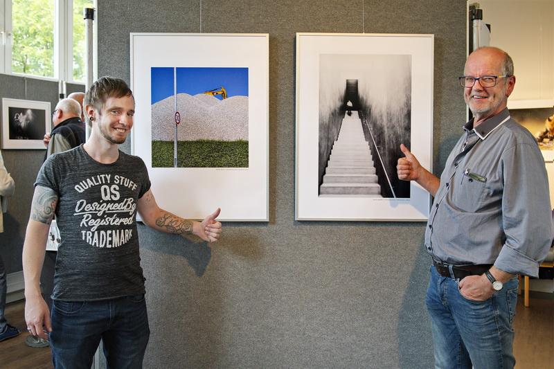 2 Fotofreunde aus Wiggensbach mit ihren Medaillenbildern